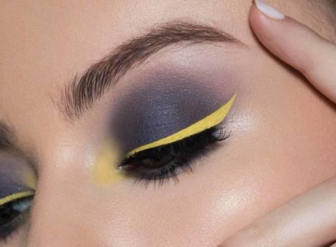 eye shadow yellow